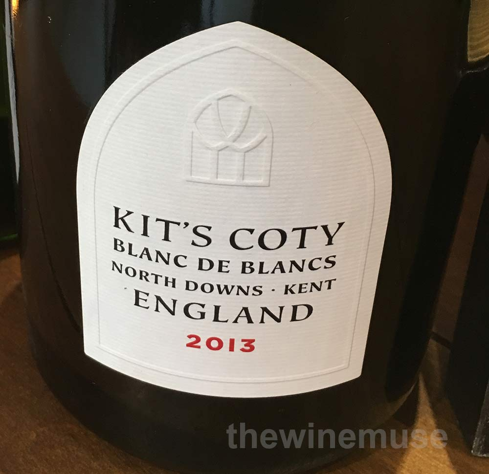 Chapel Down Kit's Coty Blanc de Blancs 2013