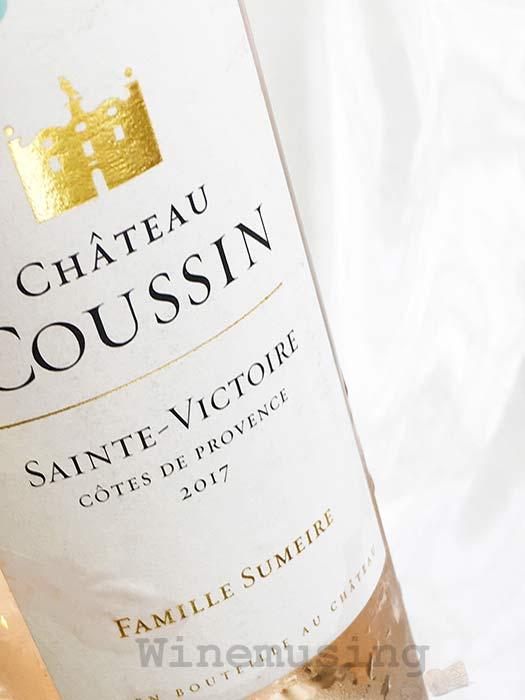 Chateau Coussin Famille Sumeire Sainte Victoire 2017