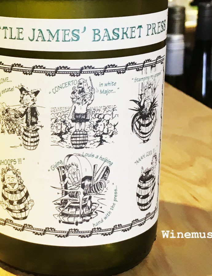 "Saint Cosme ""Little James Basket Press"" Blanc 2017"