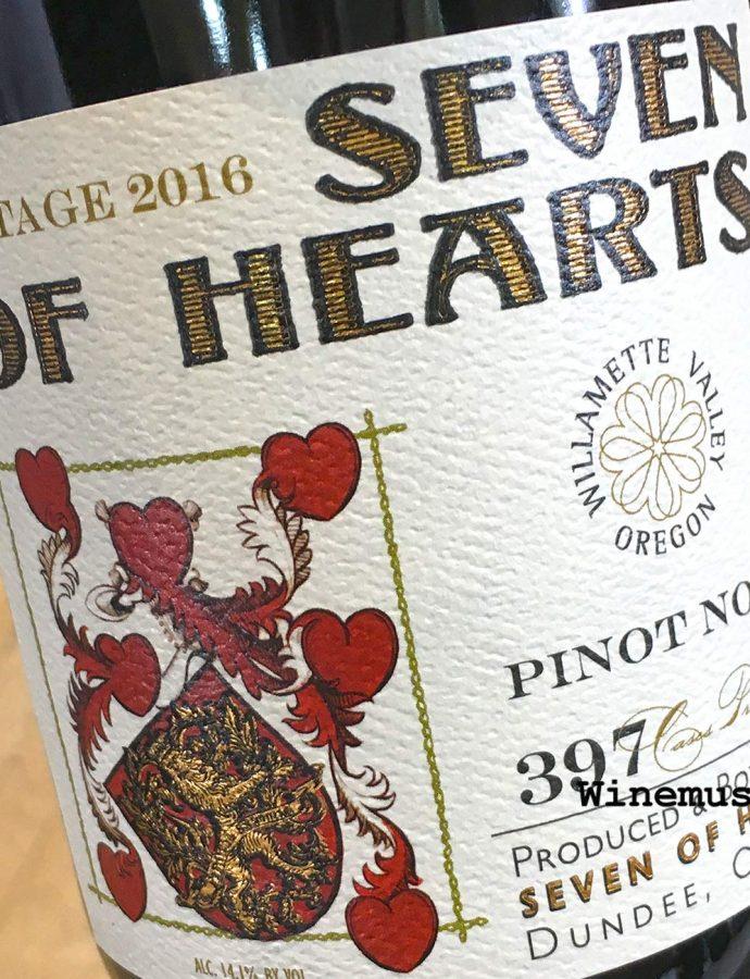 Seven of Hearts 2016 Willamette Valley Pinot Noir