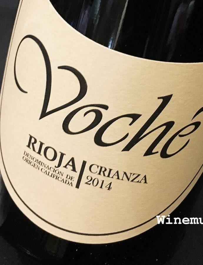 Bodegas Manzanos Voché Crianza Rioja 2014