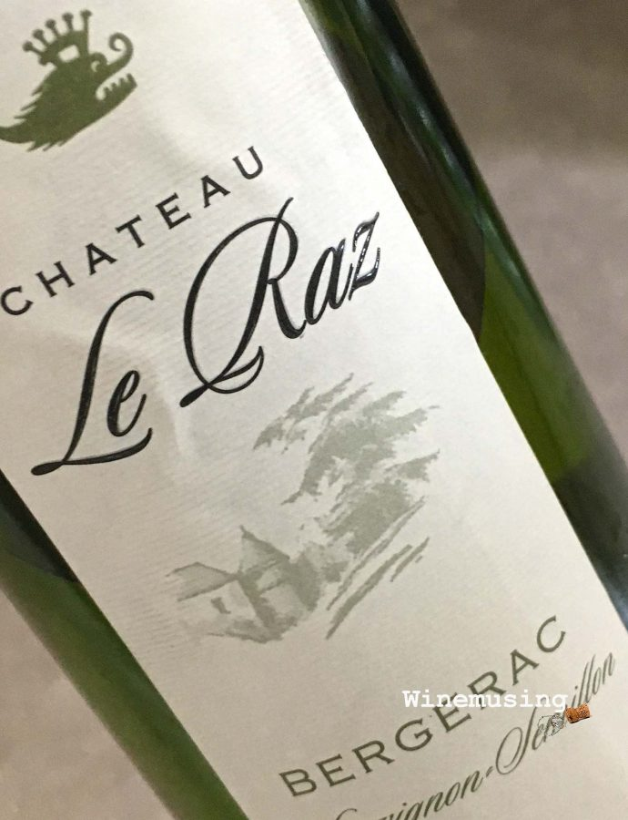Chateau le Raz Bergerac Blanc Sec 2017