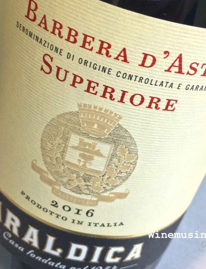 Araldica Barbera D'Asti Superiore 2016