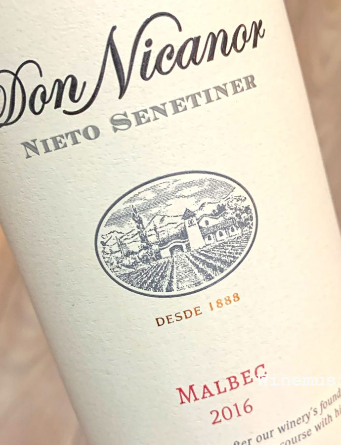Don Nicanor Nieto Senetiner Malbec 2016