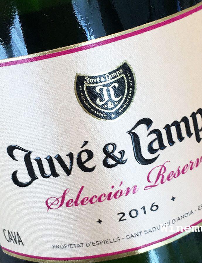 Juve y Camps Seleccion Reserva Cava 2016