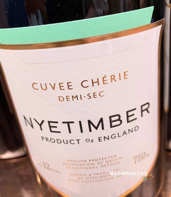 Nyetimber cuvée cherie