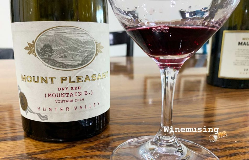 Mount Pleasant Shiraz