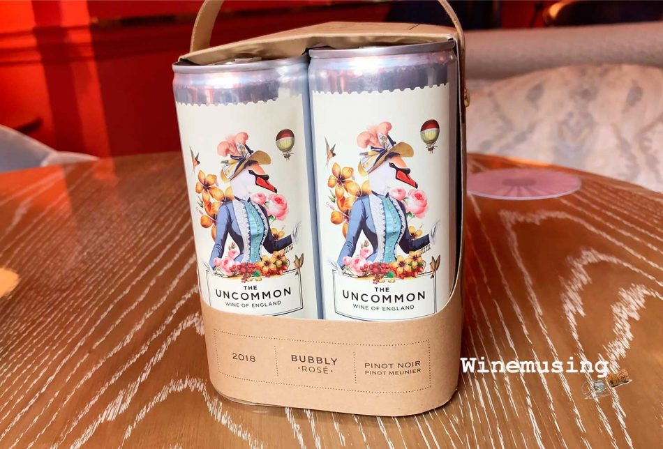 The Uncommon Pinot Noir wine cans
