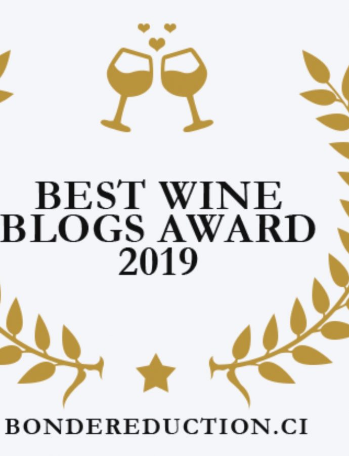 Runner up Best Wine Blog Award!