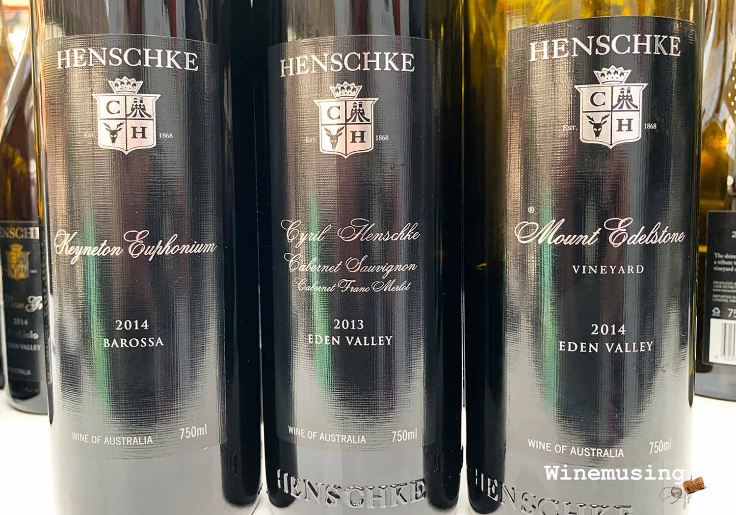 Henschke reds for now or later!