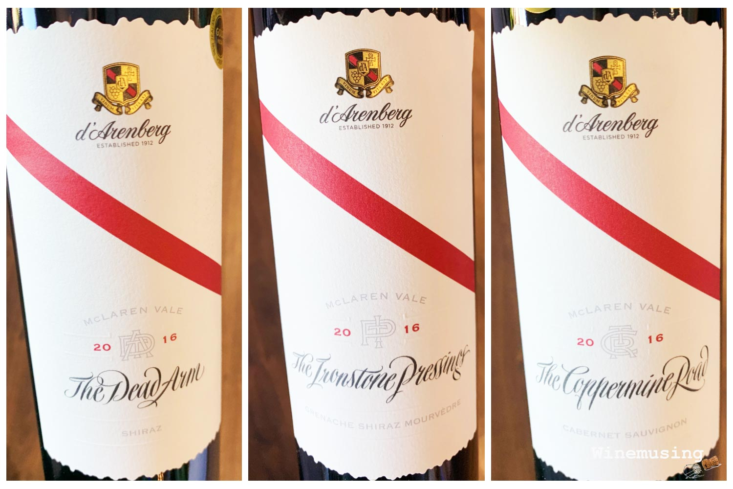d'Arenberg Icon reds 2016