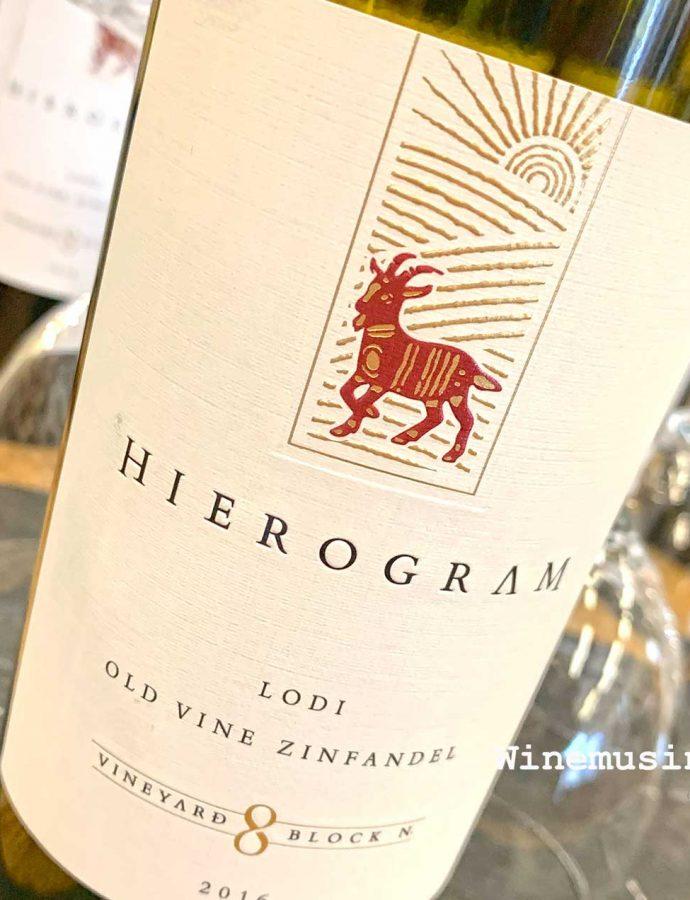 Hierogram 'Vineyard 8, Block N' Old Vine Zinfandel 2016
