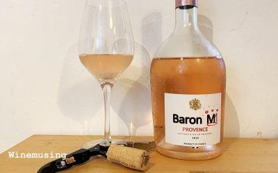 Baron M Coteaux d'Aix-en-Provence Rosé