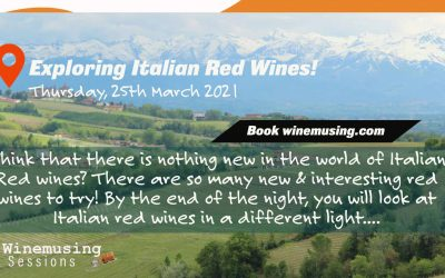 The next Winemusing Session is now open! Italian Reds!