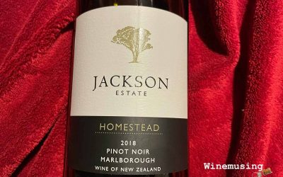 Jackson Estate Homestead Pinot Noir