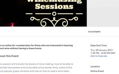 The Winemusing Sessions are now open!