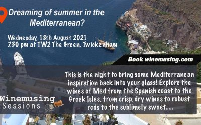 The next Winemusing Session is open! Mediterranean wines…